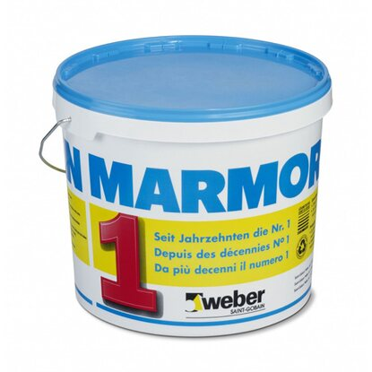 Marmoran Carrara Vollabrieb Innen 1,5 mm