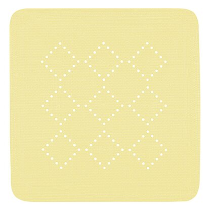 Spirella Wanneneinlage Alaska 55x55 cm Light-Yellow
