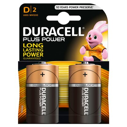Duracell Plus Power MN1300 / D / LR20