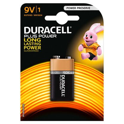 Duracell Plus Power MN1604 9V/6LF22 K1