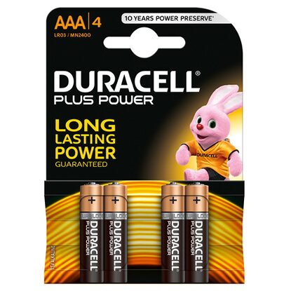 Duracell Plus Power MN2400 / AAA / LR03