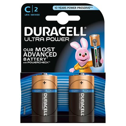 Duracell Ultra Power MX1400 / C / LR14