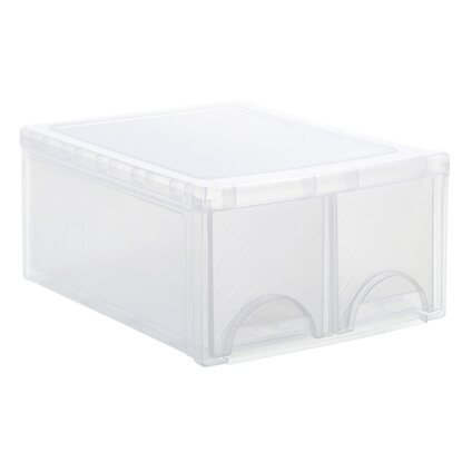 Rotho Frontbox Twin Transparent