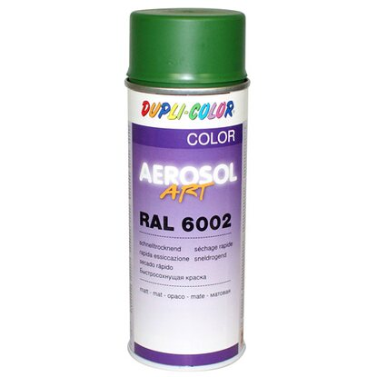 Dupli-Color Lackspray Aerosol-Art Ral 6002 Laubgrün matt 400 ml