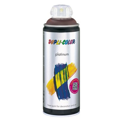 Dupli-Color Lackspray Platinum Schokoladenbraun seidenmatt 400 ml