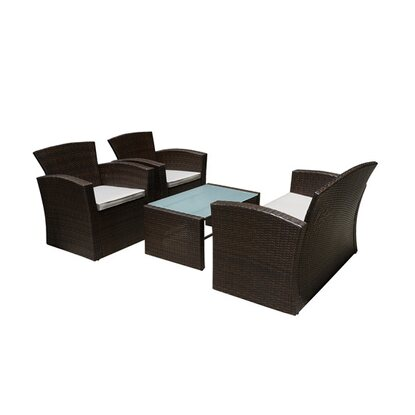 Lounge-Set Merida 4-tlg.