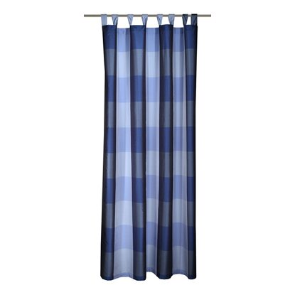 Neusser Collection Schlaufenschal Taft Blau-Grau 225 cm x 140 cm