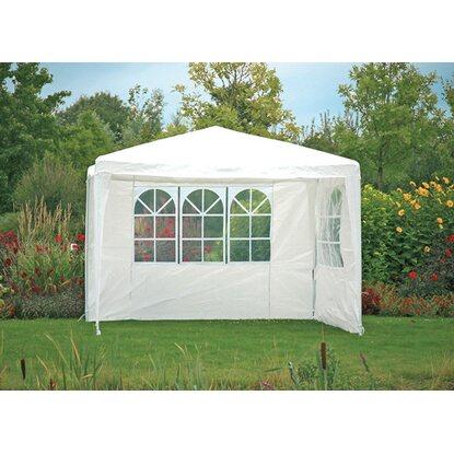 seitenteile f r pavillon 300 cm x 300 cm mit fenster weiss kaufen bei obi. Black Bedroom Furniture Sets. Home Design Ideas