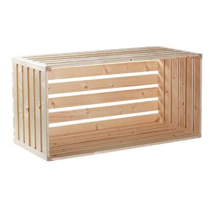 schweizer holzharasse a 1 1 fichte tanne 320 mm x 350 mm x 700 mm kaufen bei obi. Black Bedroom Furniture Sets. Home Design Ideas