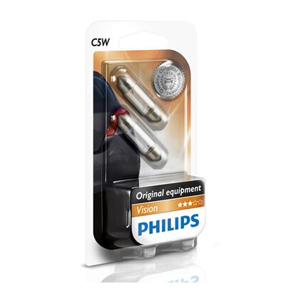 Philips Vision Soffitenlampe C5W
