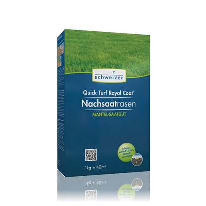 Schweizer Rasensamen Quick Turf Royal Coat 1 kg
