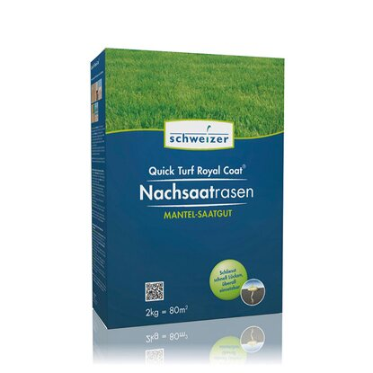 Schweizer Rasensamen Quick Turf Royal Coat 2 kg