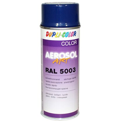 Dupli-Color Lackspray Aerosol-Art Ral 5003 Saphirblau glänzend 400 ml