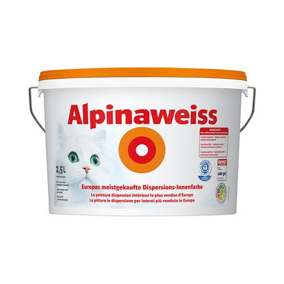 Alpinaweiss matt 2,5 l