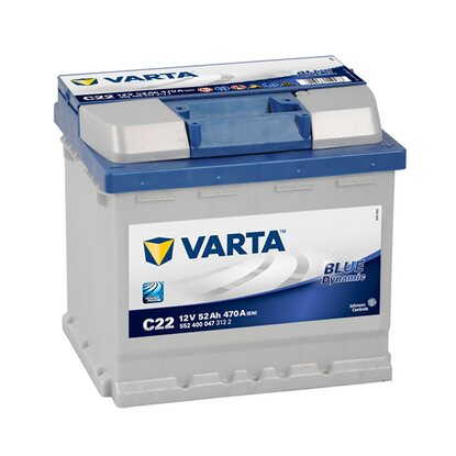 Varta Retail-Batterie Blue Dynamic 52 Ah C22