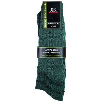 Wollsocken 3-er Set Gr. 39/42