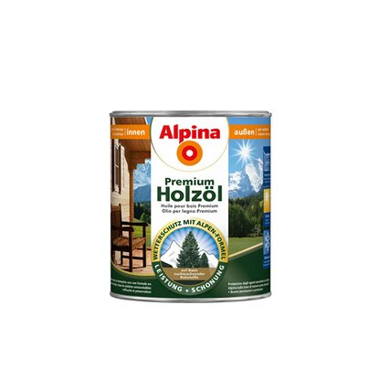 Alpina Premium Holzöl Kiefer 750 ml