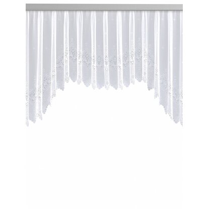 Neusser Collection Blumenfenster Weiss 145 cm x 450 cm