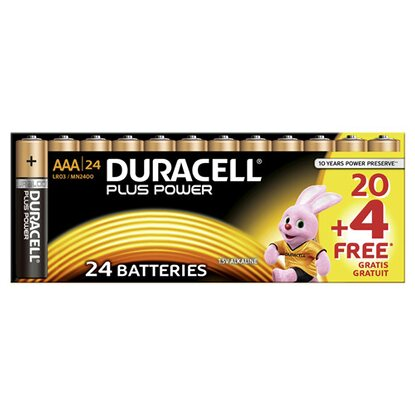 Duracell Plus Power MN2400 / AAA