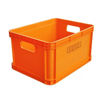 Transportbox Robert Orange 20 l (BxHxT) 22 x 40 x 30 cm