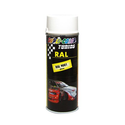 Dupli-Color Lackspray Tuning RAL 9001 Cremeweiss 400 ml