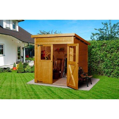 weka gartenhaus 325 gr 1 lasur eiche hell kaufen bei obi. Black Bedroom Furniture Sets. Home Design Ideas