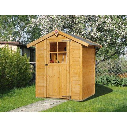 weka gartenhaus 317 gr 1 lasiert kaufen bei obi. Black Bedroom Furniture Sets. Home Design Ideas