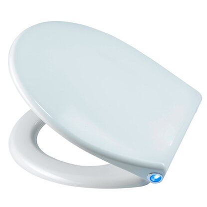 Diaqua WC-Sitz Perth LED Slow-Motion Weiss