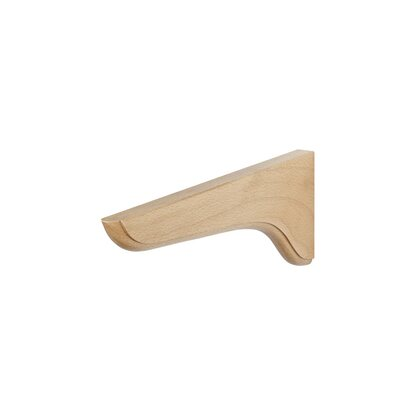 Holzkonsole Soft 240 mm x 115 mm x 20 mm Buche