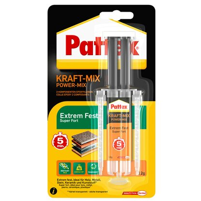Pattex Kraft-Mix Extrem Fest Transparent 11 ml