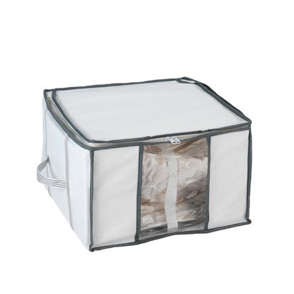 Wenko Vakuum Soft Box S Weiss/Transparent 40 cm x 25 cm x 42 cm