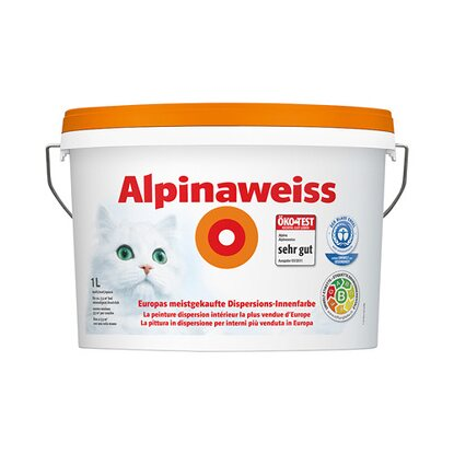 Alpinaweiss matt 1 l