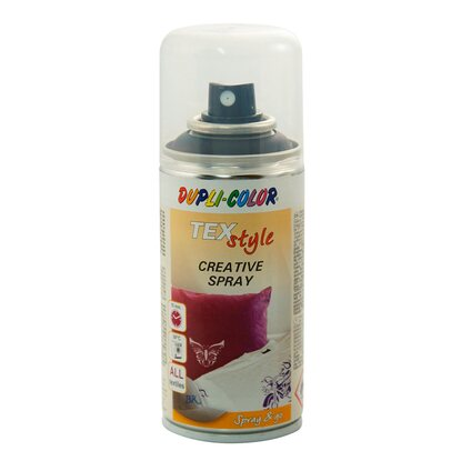 Dupli-Color Lackspray Textilspray Schwarz 150 ml
