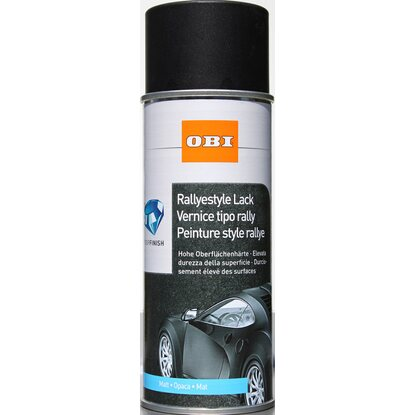 OBI Rallyestyle Lack Spray Schwarz matt 400 ml