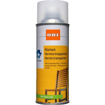 OBI Klarlack Spray Transparent matt 400 ml