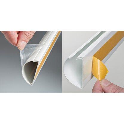 d line kabelkanal halbrund 50 mm x 25 mm x 2 39 000 mm weiss kaufen bei obi. Black Bedroom Furniture Sets. Home Design Ideas
