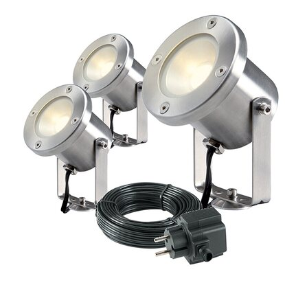 Garden Lights LED-Gartenspot EEK: A+ Catalpa 3er-Set