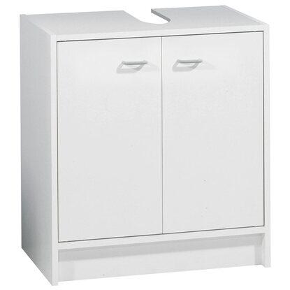 waschbeckenunterschrank standart weiss 50 cm breit kaufen bei obi. Black Bedroom Furniture Sets. Home Design Ideas