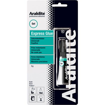 Araldite Express Glue Gel Tube 3 g