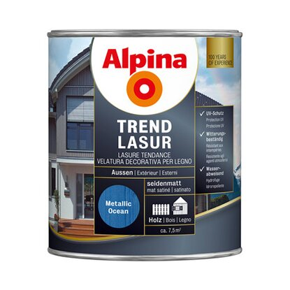 Alpina Trendlasur Metallic Ocean 750 ml