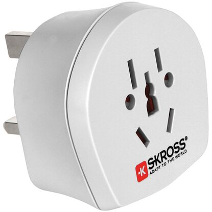 Skross Adapter World-UK 3-polig max. 13 A mit Sicherung