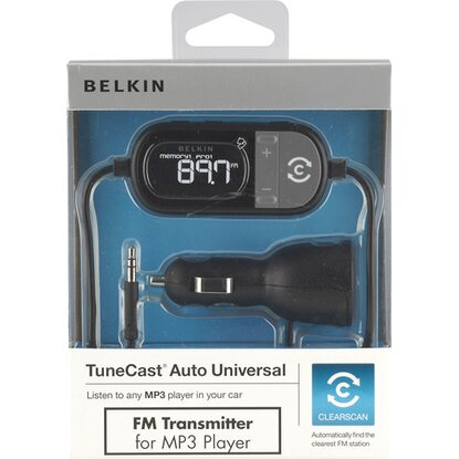 Belkin TuneCast Auto Universal ClearScan