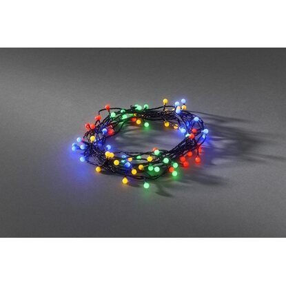 Konstsmide LED-Globe-Lichterkette 80 LED Multi-Color