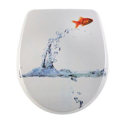 Diaqua WC-Sitz Nice Slow-Motion Jumping fish