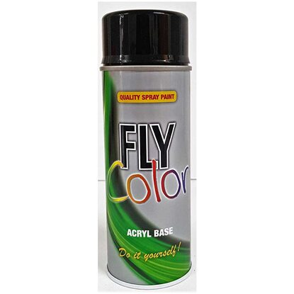Fly-Color RAL 9005 Schwarz Glanz 400 ml
