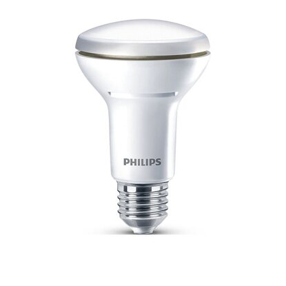 Philips LED-Reflektor R63 EEK: A+ E27 / 60 W (420 lm) Warmweiss