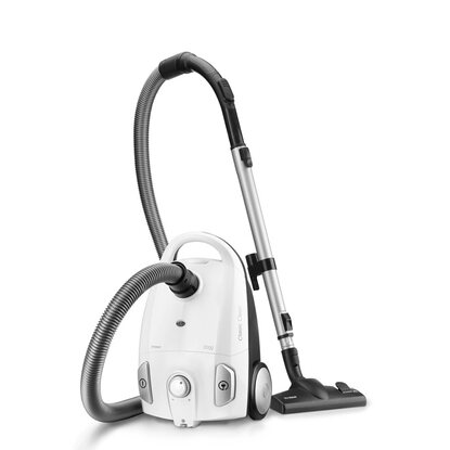 Trisa Staubsauger EEK: A 650 W Classic Clean T6601 Weiss