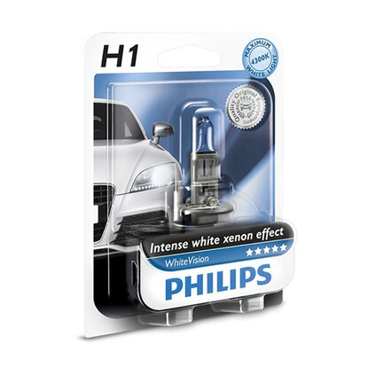 Philips WhiteVision Halogenlampe H1