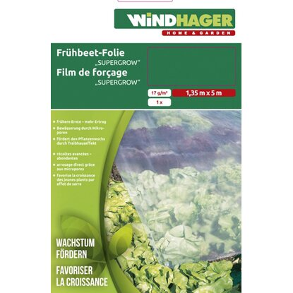 Windhager Frühbett-Folie Supergrow Transparent