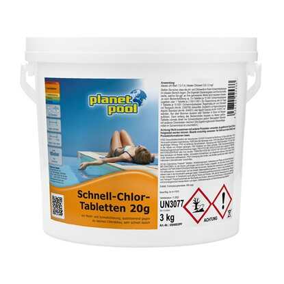 Schnell-Chlor-Tabletten 20 g